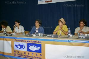1st. MUNICIPAL POLICY CONFERENCE FOR WOMEN