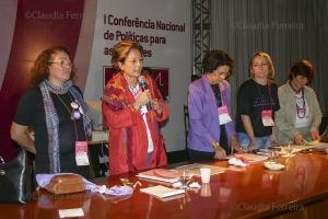 1st.  NATIONAL POLICY CONFERENCE FOR WOMEN