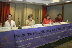 MEETING OF REPUBLICAN WOMEN IN BRAZIL AND MERCOSUR