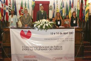 II CONFERÊNCIA MUNICIPAL DE POLÍTICAS PARA AS MULHERES DE NITERÓI