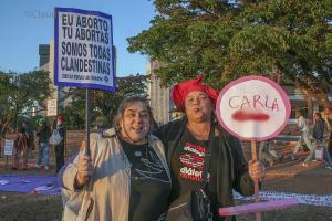 MANIFESTAÇÃO PELA LEGALIZAÇÃO DO ABORTO
