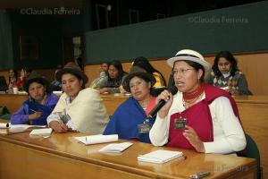ENCONTRO INTERNACIONAL MULHERES INDÍGENAS E JUSTIÇA ANCESTRAL