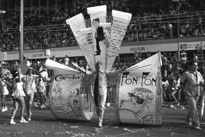 Desfile do Grêmio Recreativo Escola de Samba Unidos da Tijuca