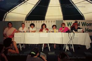 Conferência das Nações Unidas sobre Meio Ambiente e Desenvolvimento, Rio 92, Fórum Global. Planeta Fêmea.