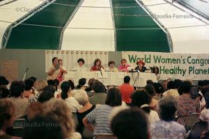 Conferência das Nações Unidas sobre Meio Ambiente e Desenvolvimento - Rio 92, Fórum Global. Planeta Fêmea