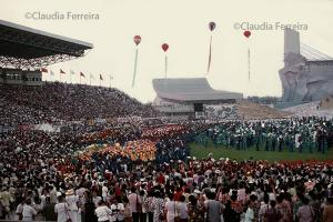 IV Conferência Mundial da Mulher. Estádio Nacional de Esportes Olímpicos
