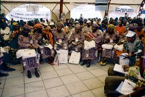 IV Conferência Mundial sobre a Mulher, fórum de ONGs.Tenda da África.