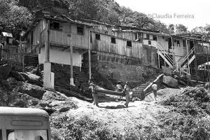 Removal in the favela (shantytown) of Vidigal