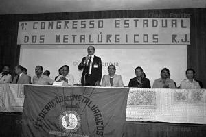 I Congresso Estadual dos Metalurgicos do Rio de Janeiro, Resende