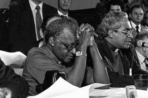 Visita de Desmond Tutu ao Brasil