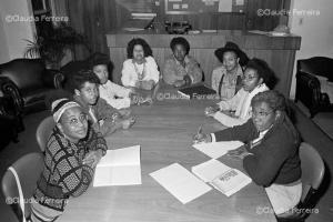 Meeting of Nzinga Black Women's Group