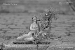 Boneca de papier maché - Eva