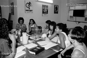Reunião de conselheiras do CEDIM
