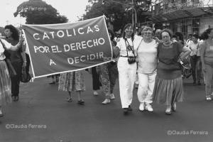 V Encontro Feminista da America Latina e Caribe.