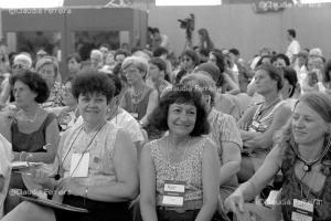Conferência das Nações Unidas sobre Meio Ambiente e Desenvolvimento, Rio 92, Fórum Global. Planeta Fêmea