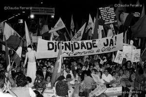 Demonstration for the impeachment of President Collor de Melo