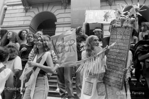 Estudantes nas ruas pelo impeachment do presidente Collor de Melo