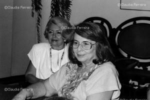 Encontro de feministas com a presidenta da Federação das Mulheres Cubanas