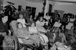 Encontro de feministas com a presidente da Federação das Mulheres Cubanas
