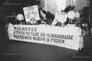 Passeata do Dia Internacional da Mulher, 8 de Março