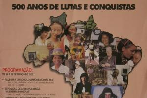DIA INTERNACIONAL DA MULHER - 500 ANOS DE LUTAS E CONQUISTAS