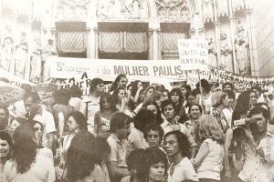 Passeata Final do III Congresso da Mulher Paulista