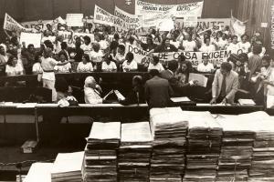 Manifestação de Mulheres no Congresso Nacional