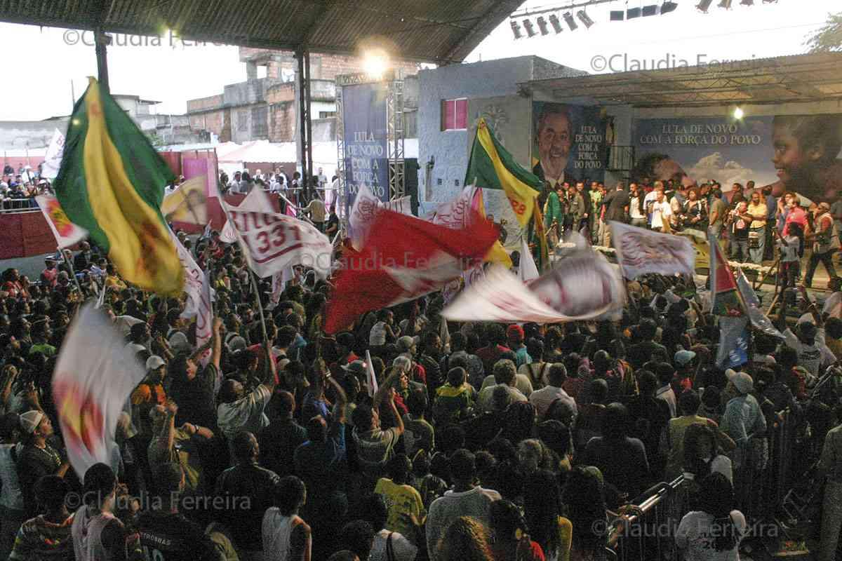 CAMPANHA PRESIDENCIAL  LULA