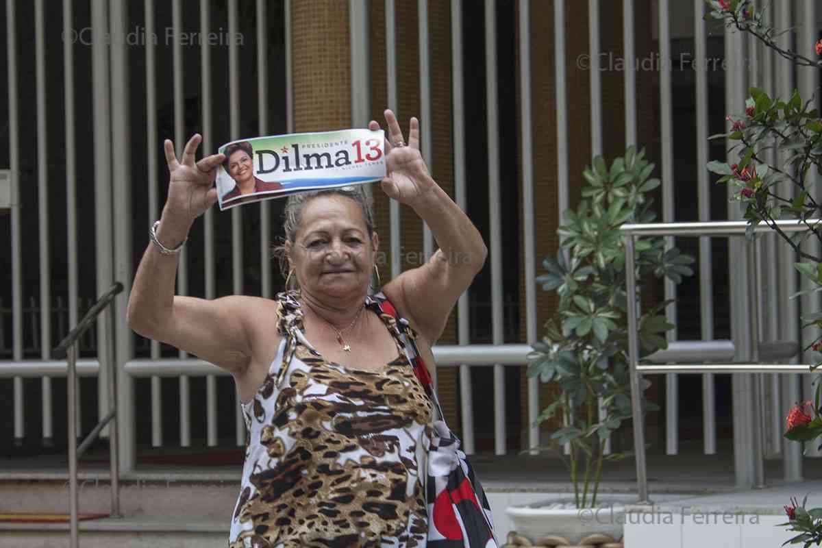 CAMPANHA PRESIDENCIAL, CARREATA EM APOIO A DILMA ROUSSEFF