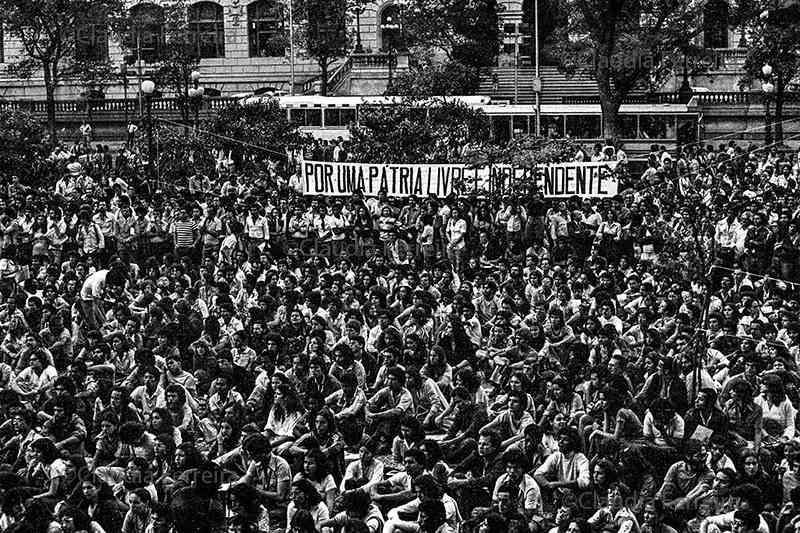 manifestação pela anistia
