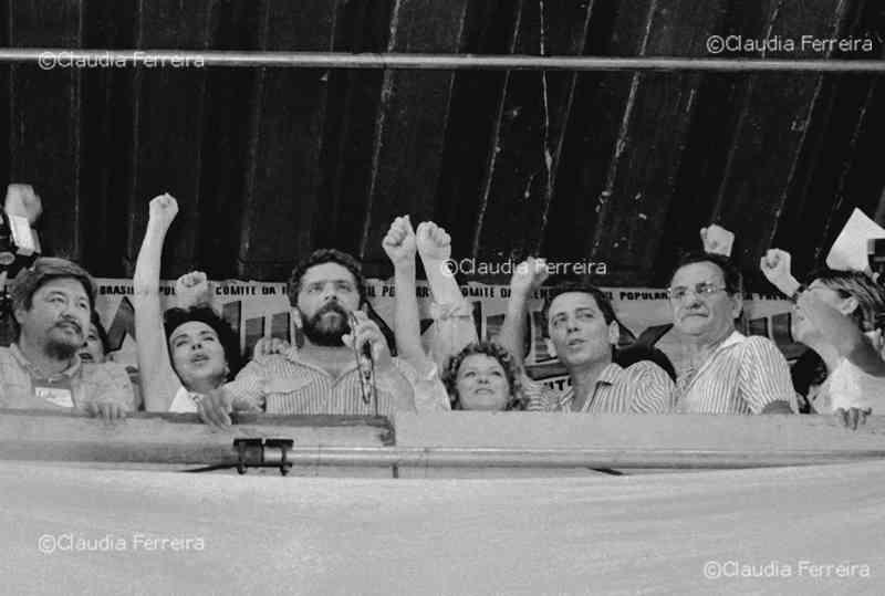 Campanha Eleitoral do candidato à presidência Lula