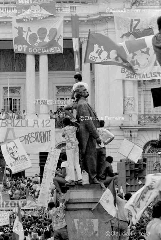Campanha Eleitoral do candidato à presidência Brizola
