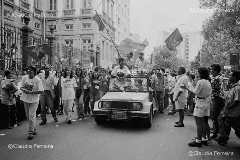 Campanha eleitoral da candidata Benedita da Silva à prefeitura do Rio de Janeiro