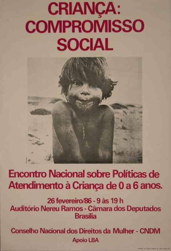 CRIANÇA: COMPROMISSO SOCIAL