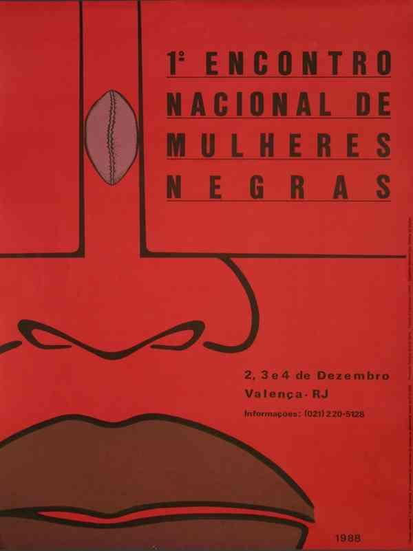 1o. ENCONTRO NACIONAL DE MULHERES NEGRAS
