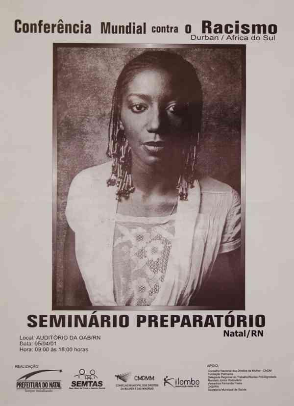 CONFERÊNCIA MUNDIAL CONTRA O RACISMO - SEMINÁRIO PREPARATÓRIO