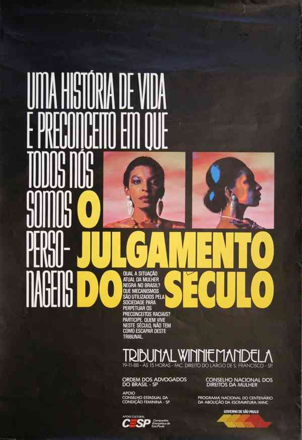 O JULGAMENTO DO SÉCULO - TRIBUNAL WINNIE MANDELA