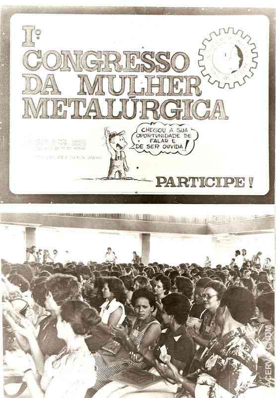 I Congresso da Mulher Metalúrgica