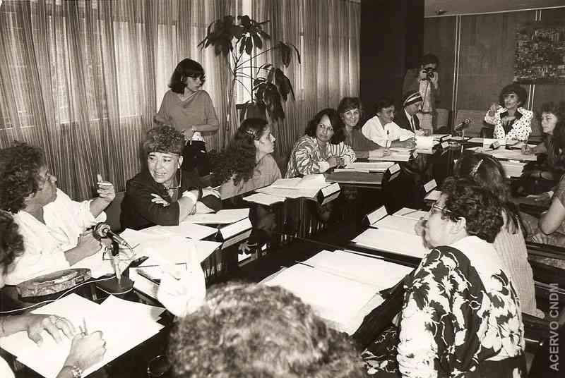 Reunião de Ruth Escobar com Deputadas Constituintes