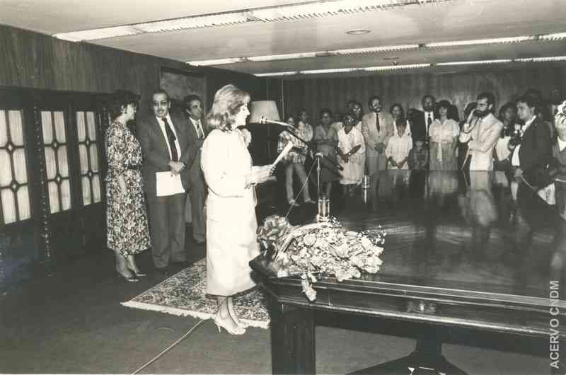 Posse de Jaqueline Pitangy de Romani à presidência do CNDM