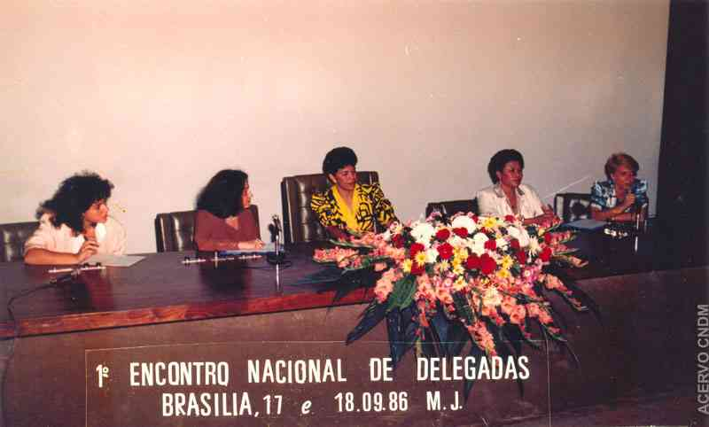 I Encontro Nacional de Delegadas