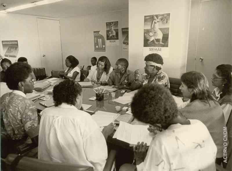 Reunião de lideranças do Movimento Negro com equipe do CDMN