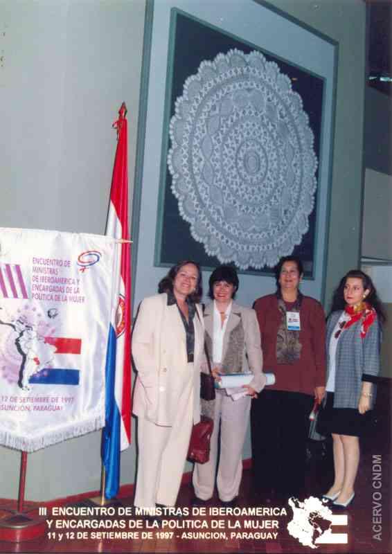 III Encontro de Ministras da Ibero America e Encarregadas da Política da Mulher