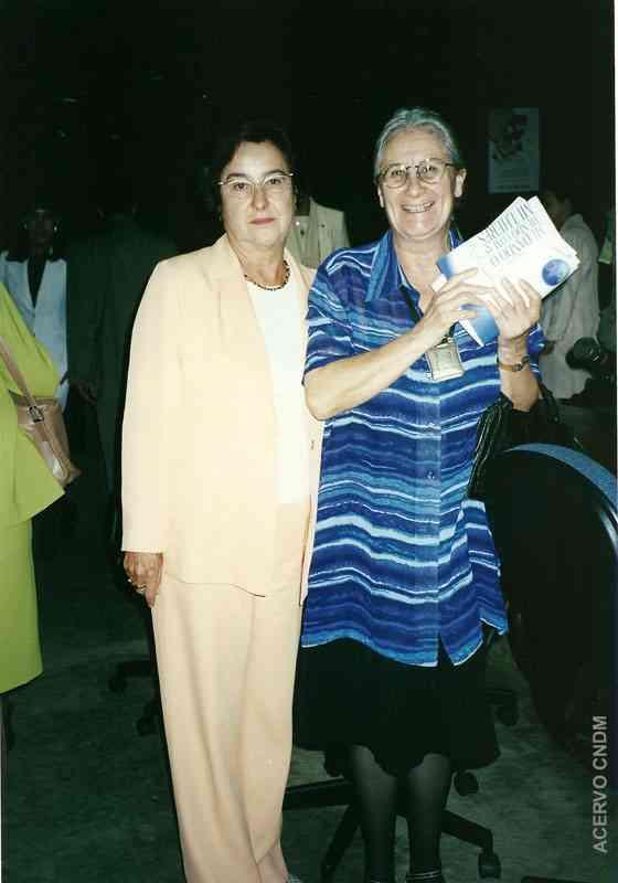 Ruth Cardoso  e Laura Balbo, Ministra da Itália