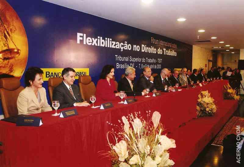Fórum Internacional sobre Flexiblilização no Direito do Trabalho - TST