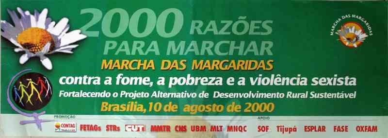 2000 RAZÕES PARA MARCHAR - MARCHA DAS MARGARIDAS