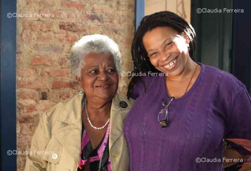 Mãe Beata de Iemanjá e Lucia Xavier